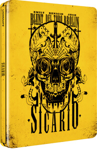 Sicario - Limited Edition Steelbook Blu-ray