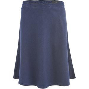 Selected Femme Women's Selma Midi Denim Skirt - Dark Blue Denim