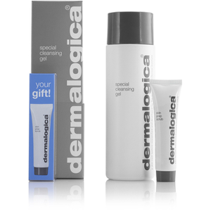 Dermalogica Special Cleansing Gel (250ml) with Skin Prep Scrub