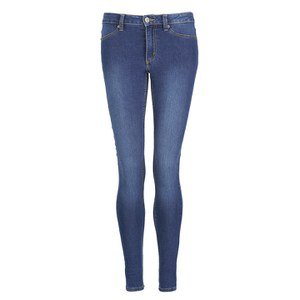 Cheap Monday Women's Mid Spray Mid Rise Jeans - Mid Blue