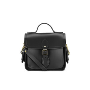 The Cambridge Satchel Company Women's Traveller Bag with Side Pockets - Black