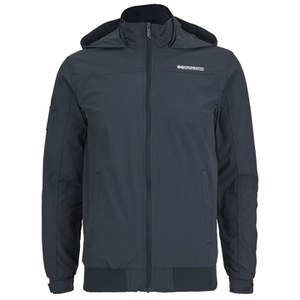 Crosshatch Men's Reflector Zip Through Jacket - Total Eclipse