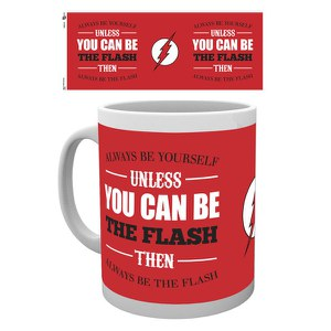 DC Comics The Flash Be Yourself - Taza