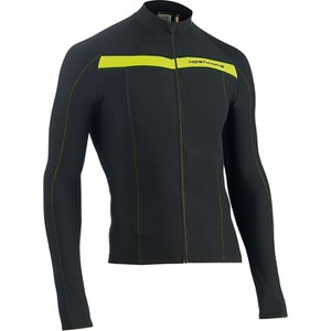 Northwave Celsius Long Sleeve Jersey - Black/Yellow