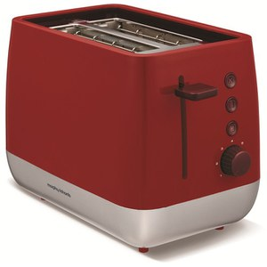 Morphy Richards 221109 Chroma Toaster - Red