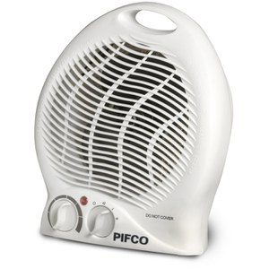 Pifco PE129 2000W Upright Fan Heater - White
