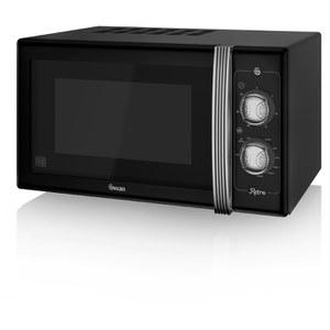 Swan SM22070BN Manual Microwave - Black - 900W