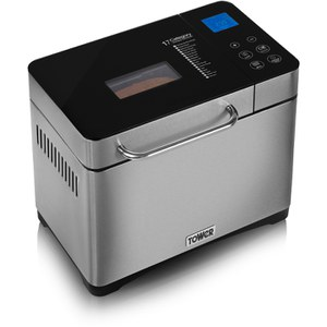 Tower T11002 Gluten Free Digital Bread Maker - White