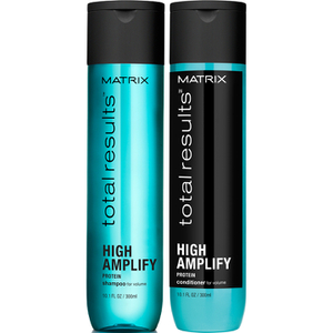 Matrix Total Results High Amplify Shampoo (300ml), Conditioner (300ml) and Hair Spray