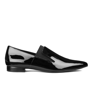Alexander Wang Women's Jamie Patent Leather Pointed Flats - Black