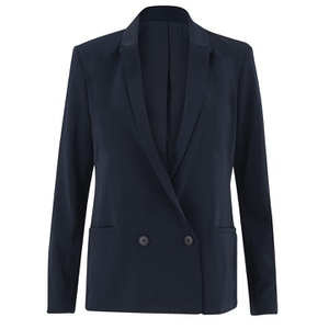 Samsoe & Samsoe Women's Aycon Blazer - Total Eclipse