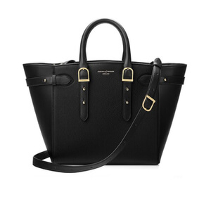 Aspinal of London Women's Marylebone Medium Tote Bag - Black