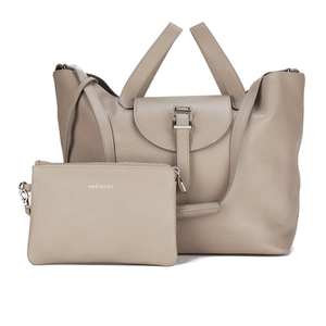 meli melo Womens Thela Tote Bag - Taupe