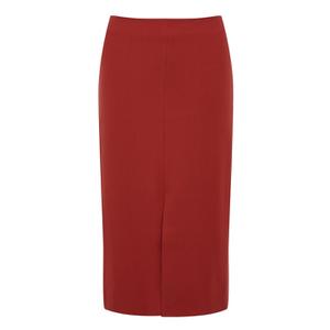 Selected Femme Women's Soma Pencil Skirt - Pompeian Red