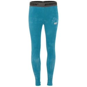 Myprotein Women's Tie Dye Core Leggings - Blue