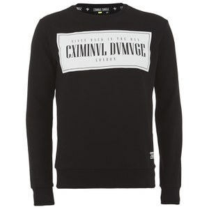 Criminal Damage Men's Since Sweatshirt - Black