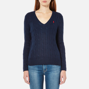 Polo Ralph Lauren Women's Kimberly Jumper - Hunter Navy