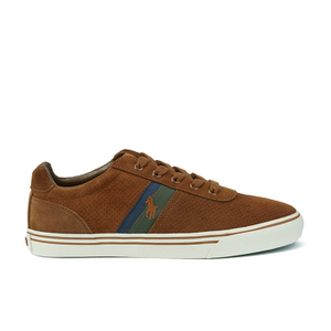 Polo Ralph Lauren Men's Hanford II Perforated Suede Trainers - New Snuff