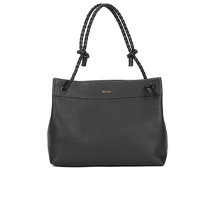 Paul Smith Accessories Women's Small Leather Paper Shoulder Bag - Black