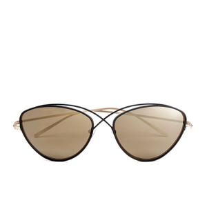 Prism Women's Brooklyn Sunglasses - Black/Rose Gold