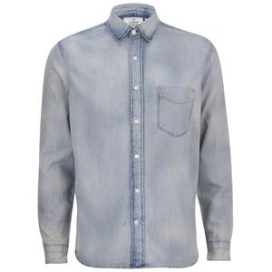Cheap Monday Men's Air Denim Shirt - Jet Blue