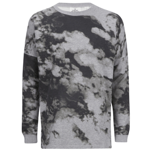 Cheap Monday Men's Zone Clouds Sweatshirt - Grey Melange