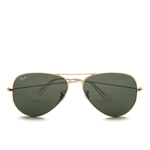 Ray-Ban Aviator Large Metal Sunglasses - Mirrow Multi Green