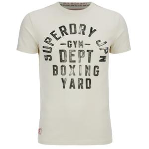 Superdry Men's Boxing Yard Short Sleeve T-Shirt - Gym Ecru