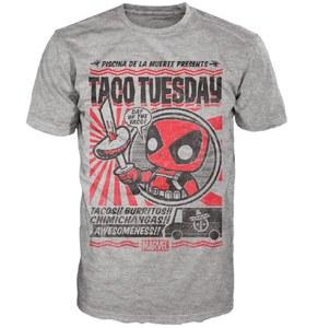 Marvel Deadpool Chimichanga Pop! Camiseta - Gris