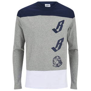 Billionaire Boys Club Men's Billionaire Jerz Long Sleeve Jersey - Heather Grey