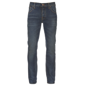 Nudie Jeans Men's Grim Tim Slim Straight Jeans - Worn Deep