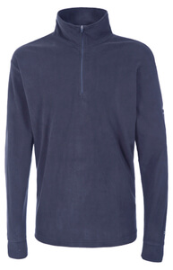 Trespass Men's Duty AirTrap100 1/2 Zip Fleece Jumper - Navy Blue