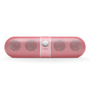 Beats by Dr. Dre: Pill Bluetooth Wireless Portable Speaker - Pink - Manufacturer Refurbished