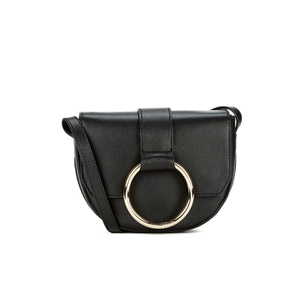 Coccinelle Women's Leather Small Crossbody - Black