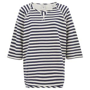 Maison Scotch Women's Home Alone Boxy Fit Short Sleeve Sweatshirt - Multi