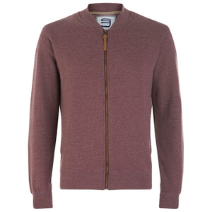 Smith & Jones Men's Brewer Zipped Sweatshirt - Port Marl