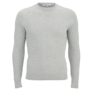 Carven Men's Pull Crew Neck Knit - Grey