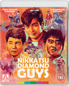 Nikkatsu Diamond Guys: Volume 1 - Dual Format (Includes DVD)