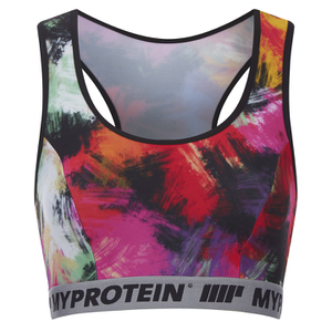Myprotein Women's Fiesta Printed Sports Bra