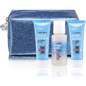 bliss Berry Bright Hand Cream, Body Butter and Body Wash Trio (Worth £16.00)