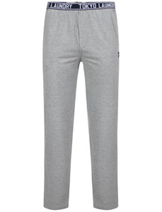 Tokyo Laundry Men's Danville Jersey Lounge Pants - Light Grey Marl