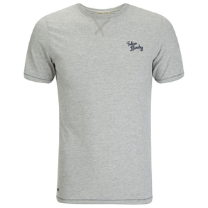 Tokyo Laundry Men's Essential Crew T-Shirt - Light Grey Marl
