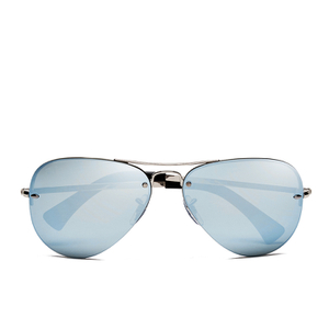 Ray-Ban Men's Aviator Sunglasses - Silver