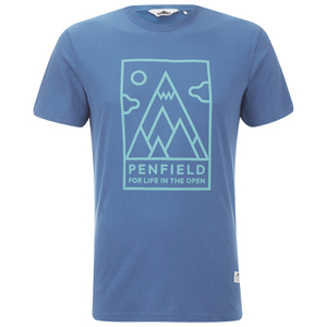 Penfield Men's Peaks T-Shirt - Sky