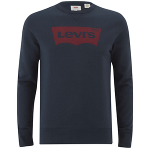 Levi's Men's Graphic Crew Sweatshirt - Dress Blues