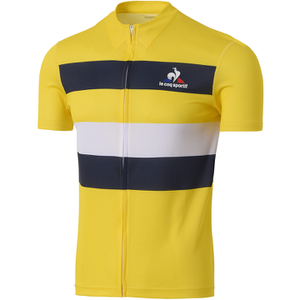 Le Coq Sportif Performance Classic N2 Short Sleeve Jersey - Yellow