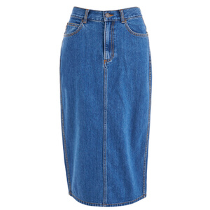 Marc by Marc Jacobs Women's Denim Skirt - Bright Blue