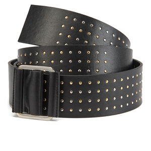 McQ Alexander McQueen Women's Knot Buckle Belt - Black