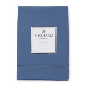 Highams 100% Egyptian Cotton Pillowcase - Steel Blue