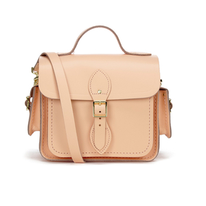 The Cambridge Satchel Company Women's Traveller Bag with Side Pockets - Peony Peach